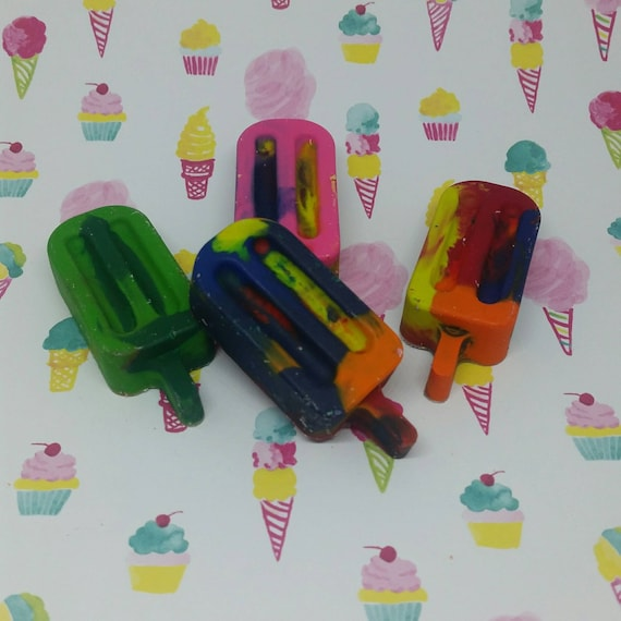 Mini Popsicle  Crayons