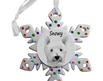 Rainbow Bridge Photo Snowflake Decoration