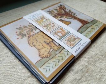 Creatures of the Forest Note Cards