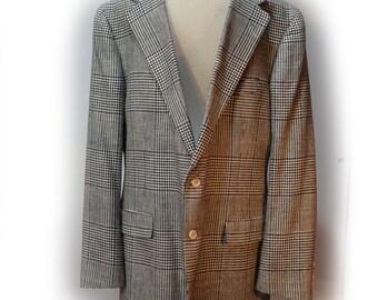 80s Polo University Club Ralph Lauren Blazer Herringbone Blazer