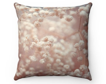 Blooming Tree Spun Polyester Square Pillow