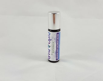 Breathe Easy Children's Organic Essential Oil Roller Blend 10mL. All Natural Respiratory Aid. Natural Vicks.