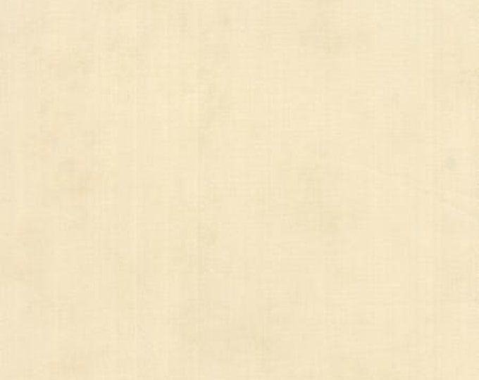 Country Orchard by Blackbird Designs - Aged Solid Natural Cream - 1/2yd