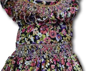 Baby dresses. summer. smocking. handmade.