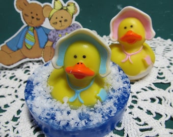 Baby Shower Rubber Duck Soap