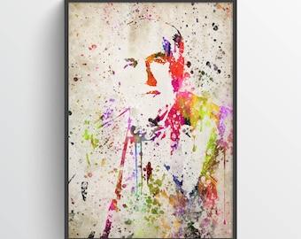 Thomas Edison Poster, Thomas Edison Print, Thomas Edison Art, Thomas Edison Decor,Home Decor, Gift Idea
