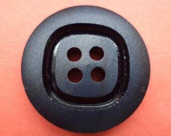 7 buttons 25mm dark blue blue (6257)