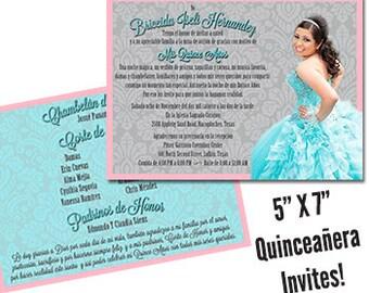 Quinceanera Invitation Sweet 15 Invitation Quinceanera Invite Sweet 15 Invite Formal Invitation