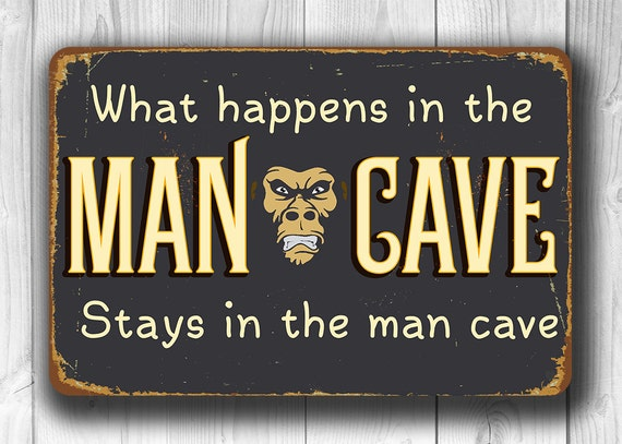 Man Cave Barber Dublin : Man cave sign cool classic what