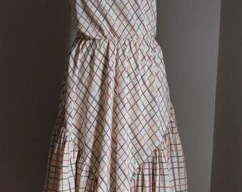 Silk dress JEAN PATOU Vintage 70