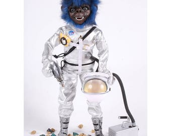 Space Ape Action Figure Planet of the Apes Art Show April 1st 2017 Brooklyn NY
