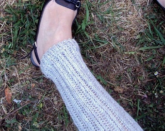 Download Now - Knit-Look Crocheted Leg Warmers - Baby to Adult - Pattern PDF