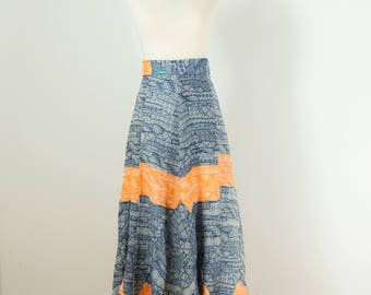 Cotton Long Skirt Coolawoola Enigma Wrap Around Waist Skirt Boho style