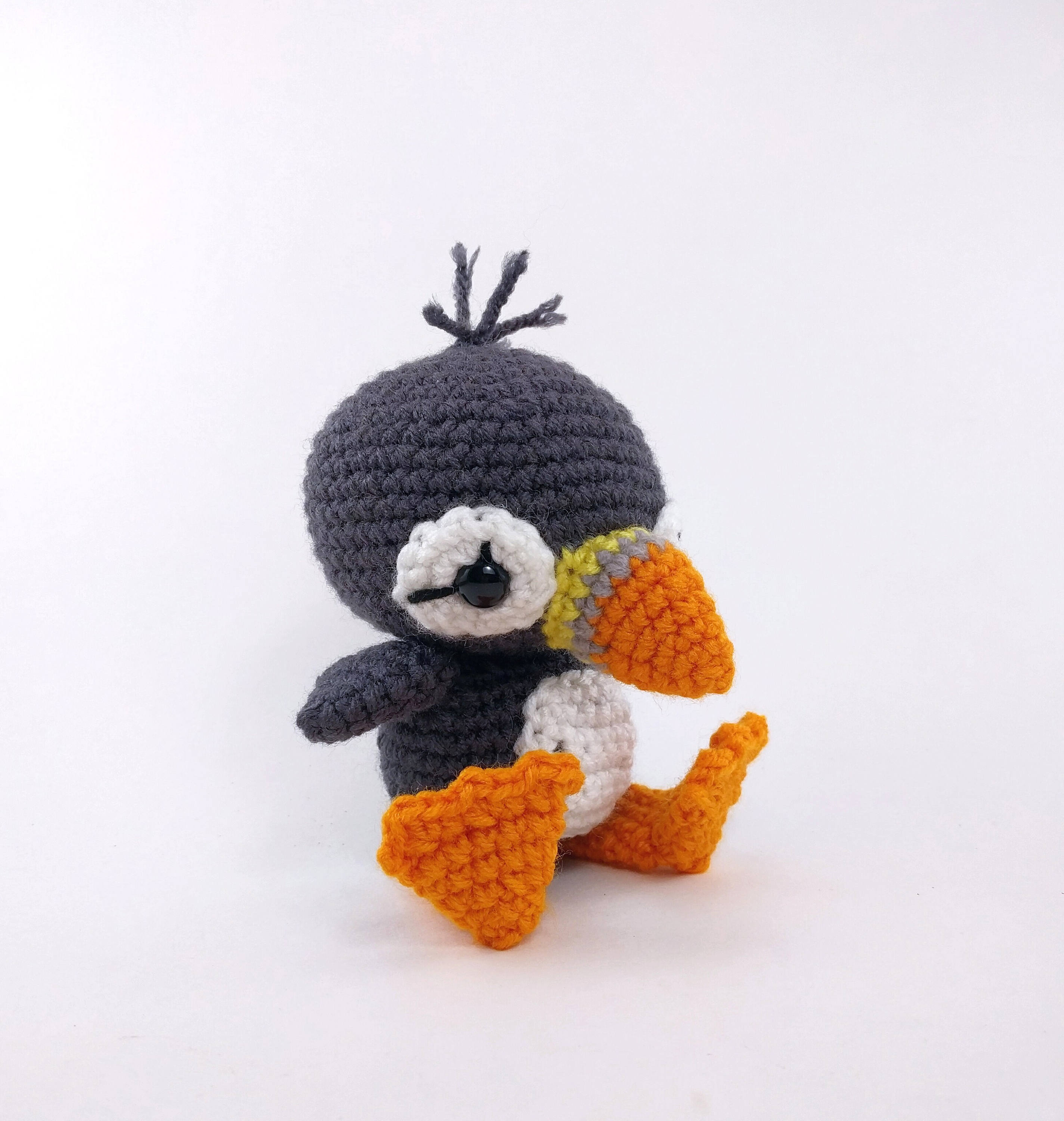 PATTERN: Paavo the Puffin - Crochet puffin pattern - amigurumi ...