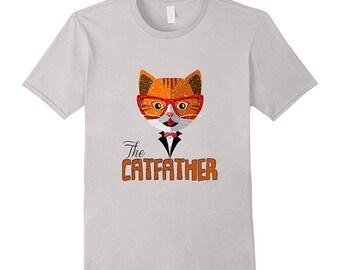 Cat Tee Shirt - Funny Cat T Shirt - Pet Cat Tee - Cat Puns - Funny Cat Owner Gift - The Cat Father