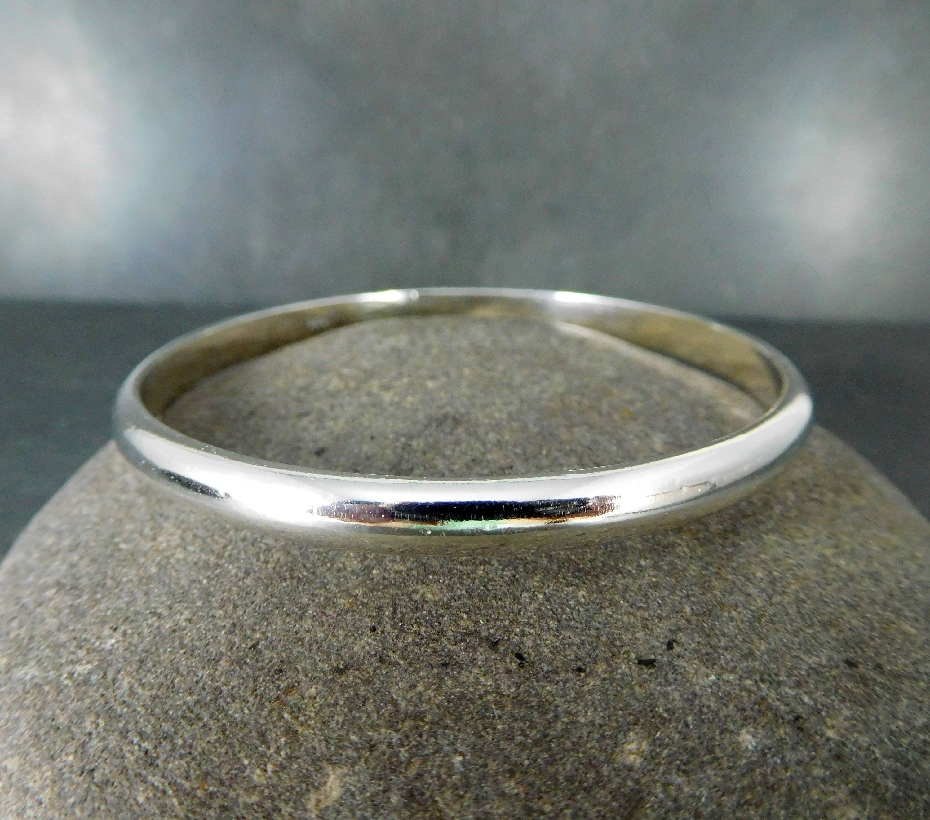 keynes bangles plain bangle designs silver sterling file bracelets w a textured milton jewellery handmade