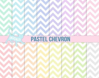 Digital paper chevron Digital Scrapbook paper Commercial use Digital paper pastel digital paper geometric digital paper spring