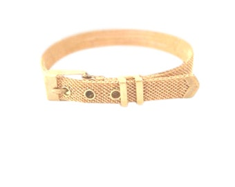 Gold Mesh Buckle Bracelet, Watch Band Bracelet, Best Friend Gift, Unique Christmas Gift for Her, Statement Bracelet, Modern Vintage,