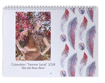 """""""Sacred woman"""" wall calendar 2018"""