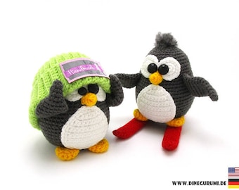 Penguins crochet pattern amigurumi