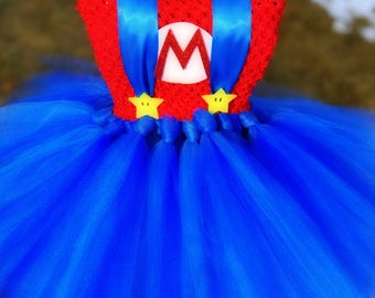 Adult Mario Tutu Dress