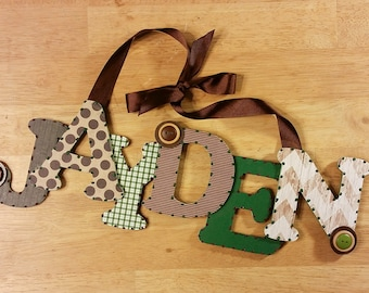 Baby Nursery Decor, Custom Nursery Letters, Wood Letters, Nursery Letters, Nursery Decor, Nursery Letters, Custom Letters, Baby Room Letters