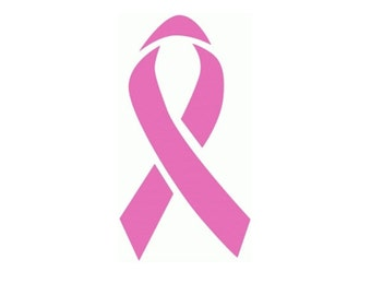 Awareness Ribbon Decal - Car Decal - Breast Cancer Awareness - Vinyl Decal