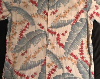 Vintage Hawaiian Shirt. Men's Hawaiian Shirt. Hawaiian Shirt. Vintage Shirt. Hawaii Shirt