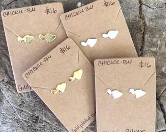 Maui stud earrings