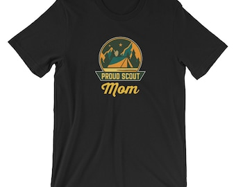 Proud Scout Mom T-shirt