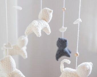 Amigurumi Sheep Baby Mobile : Crochet mobile etsy
