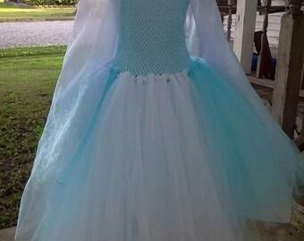 snow queen tutu dress