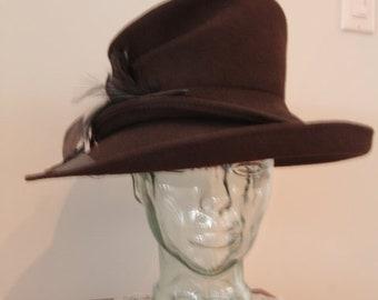Vintage 1990's Lilliput Custom Hat