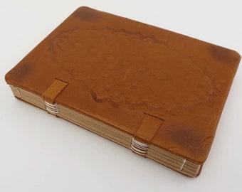 Book binding leather Coptic