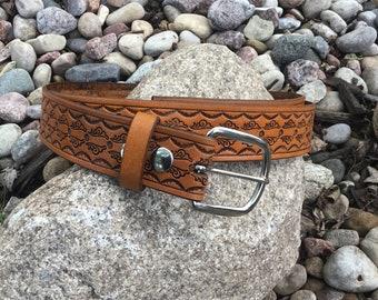 Leather Belt (Handtooled)