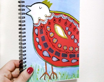 King Chicken Notebook