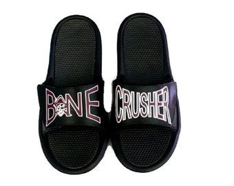 Customized Slide Sandals  DISCONTINUED,   New Slides by the end of June stay tuned!!