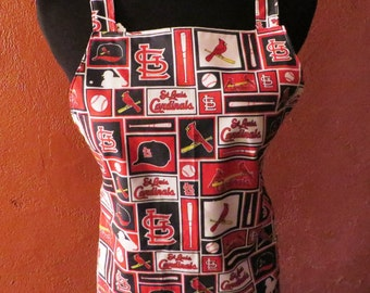 St. Louis Cardinal apron