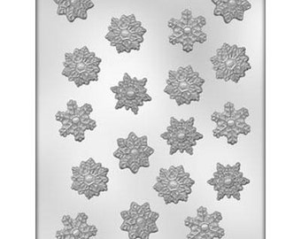 SNOWFLAKE ASSORTMENT Chocolate Mold