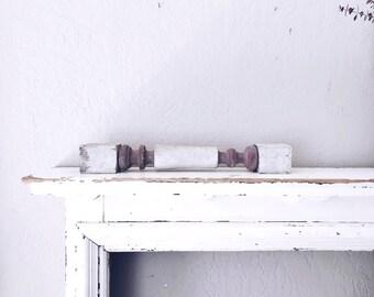 Vintage Wooden Baluster // Primitive Display