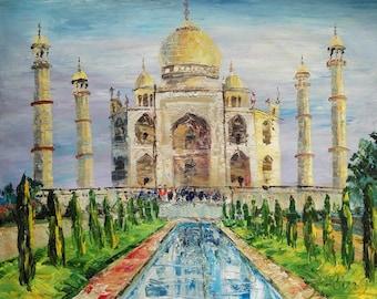 Taj Mahal India-Pen King -A1530