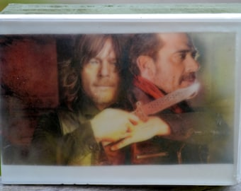 Walking Dead Graphic Art Soap Bar - Daryl Dixon - Novelty Soap - AN AJSWEETSOAP EXCLUSIVE