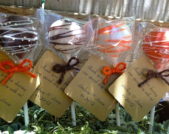Cake Pop 'Tags' - an addtion to your exsisting order