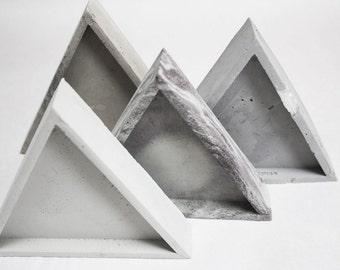 Triangle Concrete Tray