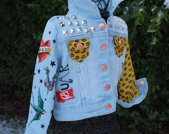 Baby Handpainted Jacket