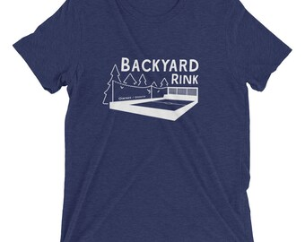 Backyard Ice / Hockey Rink Owner T-Shirt
