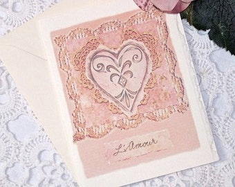 L'AMOUR Note Card