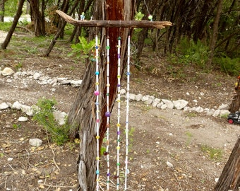 Beaded Wall Hanging/ Wind chime