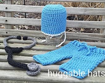 Crochet Stethoscope Pattern, Stethoscope Pattern Only, Toy Stethoscope, Photo Prop