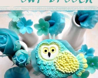 TUTORIAL Polymer Clay Owl Pin Brooch PDF eBook